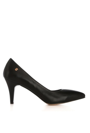 UK Polo Club 64703 Kadın Topuklu Ayakkabı Siyah