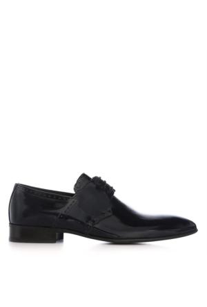 UK Polo Club 74601 Erkek Klasik Ayakkabı Lacivert Rugan