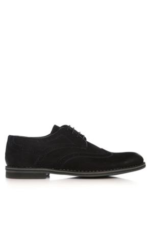 UK Polo Club 74304 Erkek Klasik Ayakkabı Lacivert Nubuk