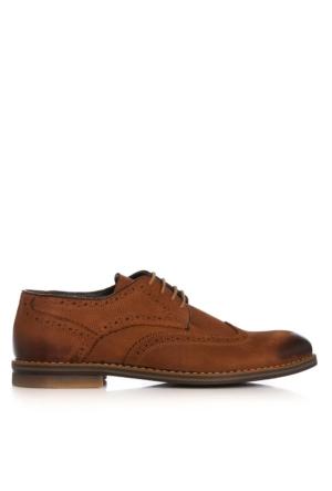 UK Polo Club 74304 Erkek Klasik Ayakkabı Taba Nubuk