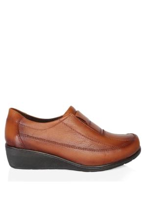 UK Polo Club 64907 Kadın Günlük Ayakkabı Taba