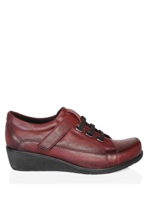 UK Polo Club 64906 Kadın Günlük Ayakkabı Bordo