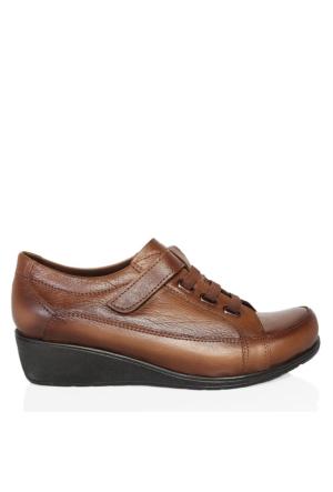 UK Polo Club 64906 Kadın Günlük Ayakkabı Vizon