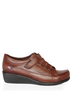 UK Polo Club 64906 Kadın Günlük Ayakkabı Kahverengi