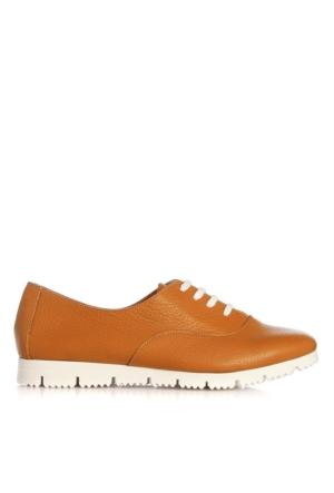 UK Polo Club P64702 Kadın Günlük Ayakkabı Hardal