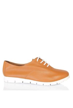 UK Polo Club P64702 Kadın Günlük Ayakkabı Taba