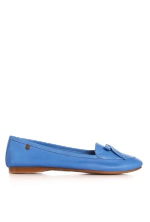 UK Polo Club 64701 Kadın Babet Mavi