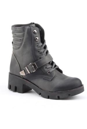 Conpax 1031-F Günlük Termo Taban Bayan Bot Ayakkabı