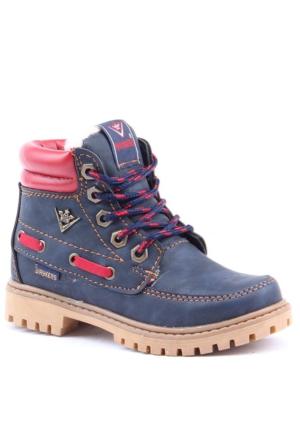 Waykers 7215 İçi Termal Kürklü Erkek Çocuk Bot Ayakkabı