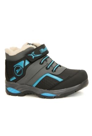 Zümrüt 2704 F İçi Termal Kürklü Erkek Çocuk Spor Bot Ayakkabı