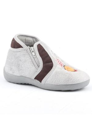 Akinalbella 1020-G Ev ve Kreş Kız Çocuk Okul Panduf Ayakkabısı