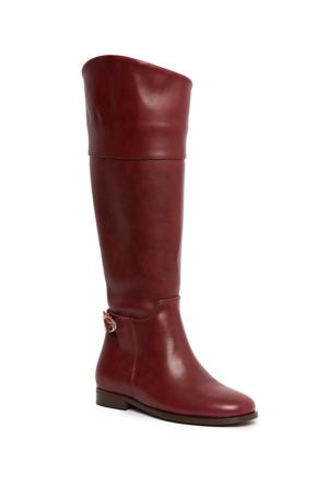 U.S. Polo Assn. K6Brooklyn Kadın Çizme Kırmızı 50155065-900