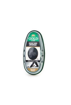 Gold Care Parlatıcı Sünger Günlük Sünger Siyah Deri