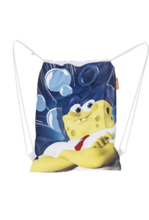 Soobe Lisanslı Sponge Bob Plaj Çantası Mix