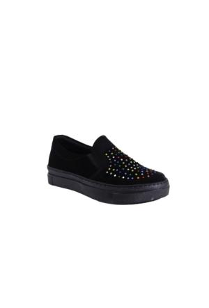 Despina Vandi Hsl 39-1 Çocuk Günlük Taşlı Babet Ayakkabı