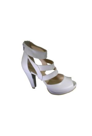 Despina Vandi Puka A4103 Günlük Kadın Platform Topuklu Sandalet