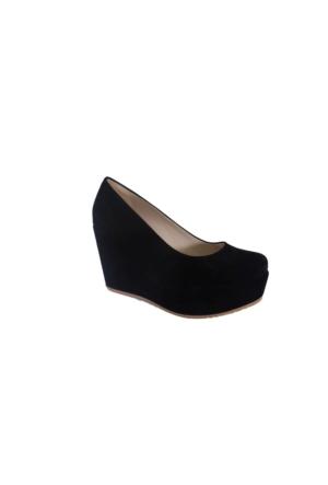 Oflaz K-406 Kadın Günlük Dolgu Topuk Ayakkabı