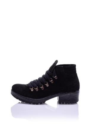 Bueno Shoes Kadın Siyah Bot H2800