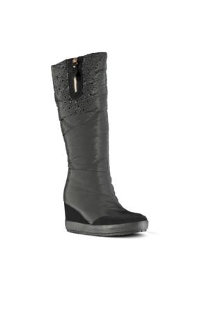 Marjin Fela Dolgu Çizme Siyah