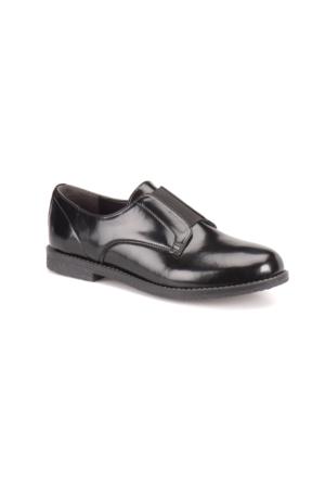 Miss F A7200036 Siyah Kadın Maskulen Ayakkabı