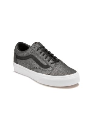 Vans OLD SKOOL Gri Siyah Kadın Sneaker Ayakkabı