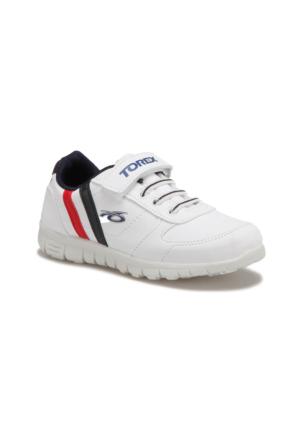 Torex DEMBA Beyaz Lacivert Kırmızı Erkek Çocuk Sneaker Ayakkabı