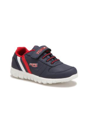 Torex DEMBA Lacivert Beyaz Kırmızı Erkek Çocuk Sneaker Ayakkabı
