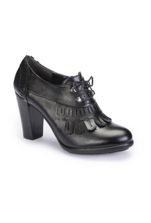 Polaris 62.309103.Z Siyah Kadın Ayakkabı
