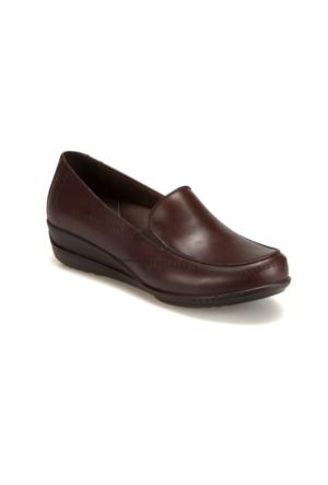 Polaris 5 Nokta 62.107523.Z Kahverengi Kadın Deri Ayakkabı