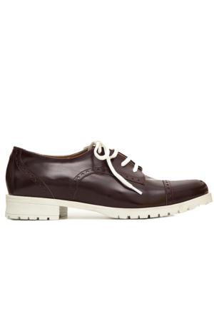 Mecrea Exclusive Bobby Bordo Mat Rugan Loafer Ayakkabı