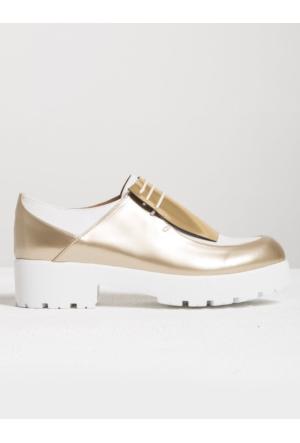 Mecrea Exclusive Marlon Üç Renk Tasarım Loafer Ayakkabı