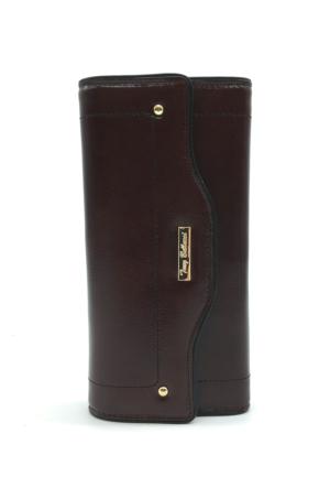 Tony Bellucci M18-913 Kahverengi Gerçek Deri Bayan Cüzdanı