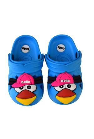 Bella Erkek Çocuk Kapalı Terlik Sandalet Açık Mavi