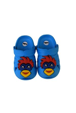 Bella Erkek Çocuk Kapalı Terlik Sandalet Açık Mavi1