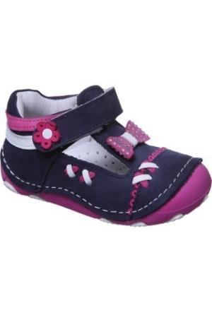 Sanbe 305 H 401 Deri İlkadım Ayakkabı Lacivert