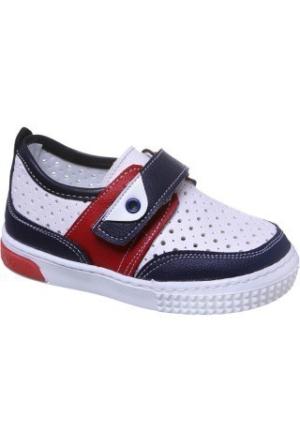 Sanbe 200 H 1201 Suni Deri Ayakkabı Beyaz