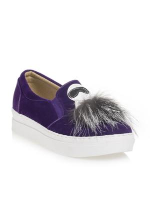 Ayakkabı - Mor - Zenneshoes