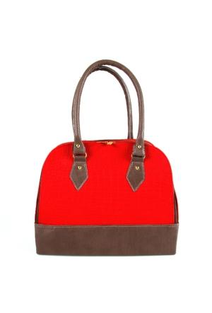 Berramore Krs104-82 Kırmızı-Desenli Bayan Çanta
