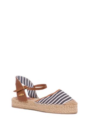 U.S. Polo Assn. Kadın Sandalet 50148239-200 Y6Elena