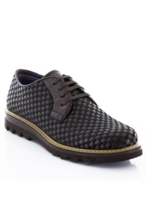 Tonny Black Alfa Günlük Deri Erkek Ayakkabı