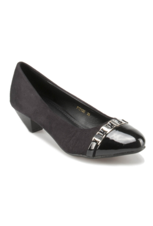 Errica Pablo F17130 Siyah Kadın Klasik Ayakkabı