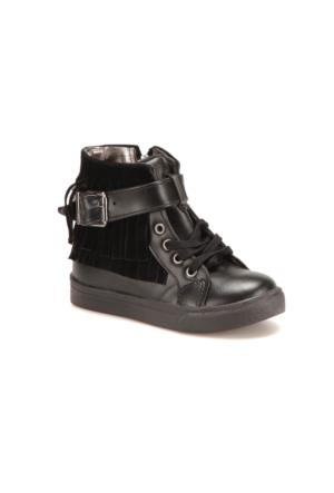 Seventeen Pp420 Siyah Kız Çocuk Sneaker Ayakkabı