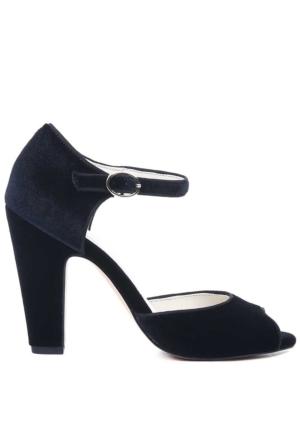 Anne Klein Akhenrika2 Siyah Kumaş Ayakkabı