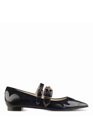 Nine West Nwalina Siyah Deri Ayakkabı