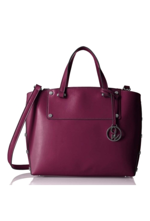 Nine West 60431478 Bordo Suni Deri Çanta
