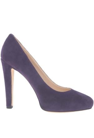 Nine West Nwbrıelyn Mor Gerçek Süet Kadın Ayakkabı