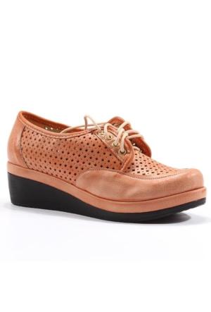 Asm Günlük Fileli Bağcıklı Bayan Spor Ayakkabı