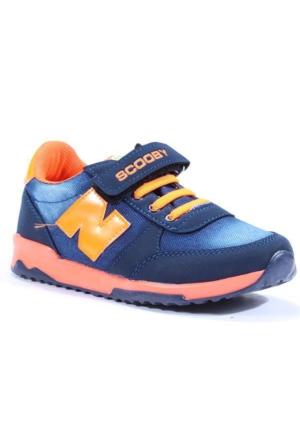 Scooby 2026 Günlük Yürüyüş Kot Erkek Çocuk Spor Ayakkabı