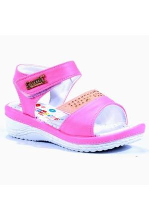Canımbebe Günlük Çırtlı Önü Taşlı Kız Çocuk Sandalet