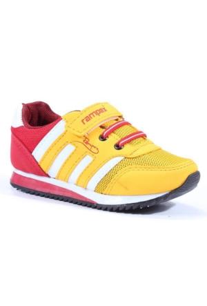 Rampex Cırtlı Fileli Günlük Erkek Çocuk Spor Ayakkabı